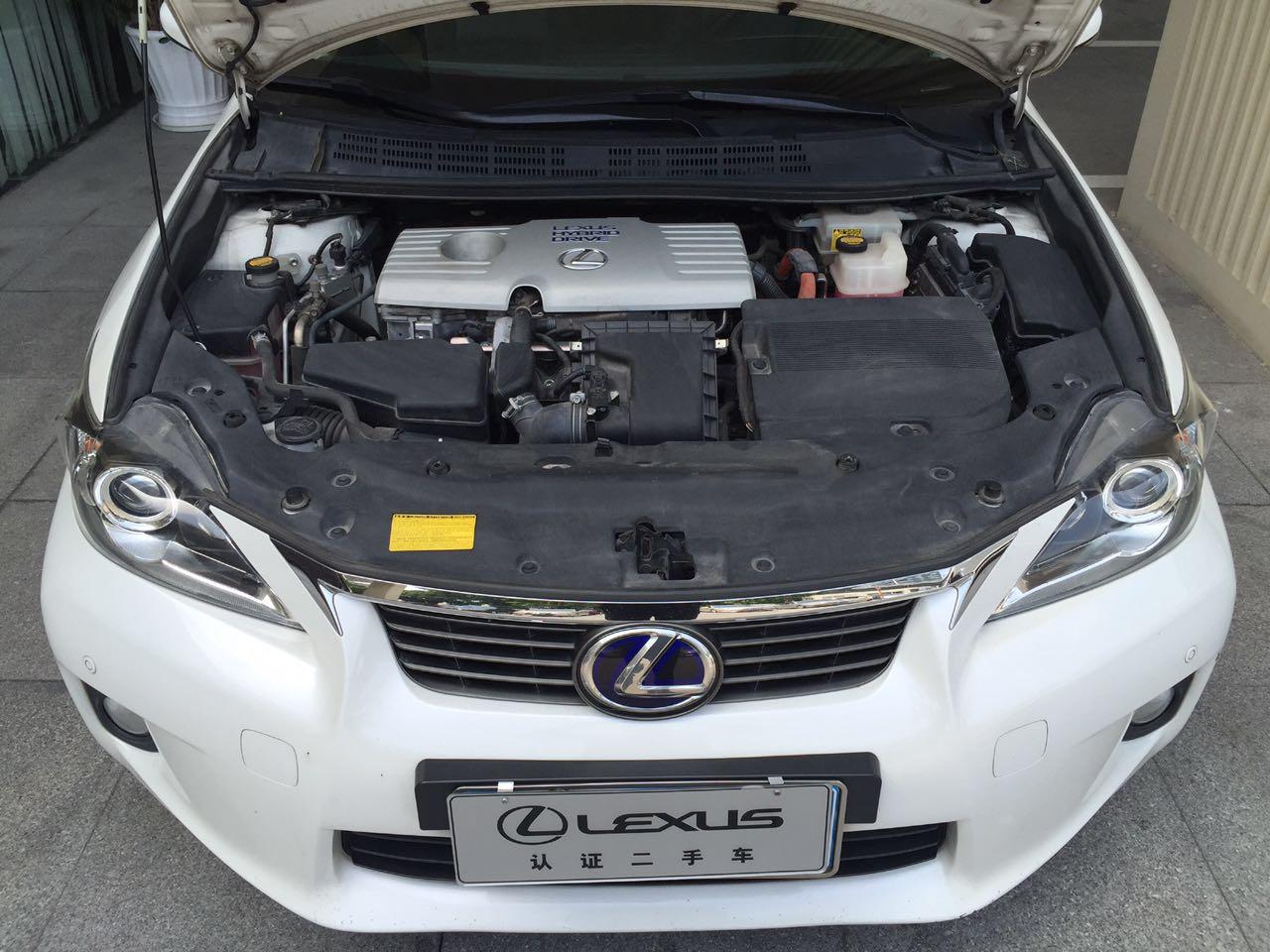 雷克萨斯CT 200h 1.8 CVT ECVT油电混合豪华版[201110]