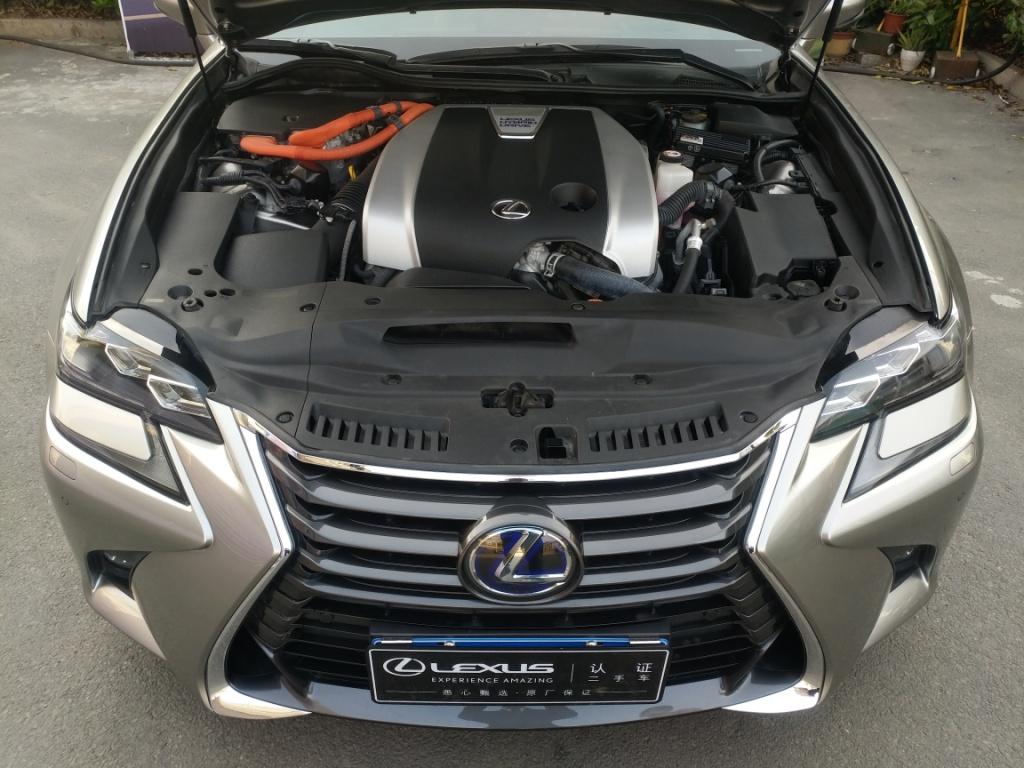 雷克萨斯GS 450h 3.5 CVT后驱油电混合[201604]