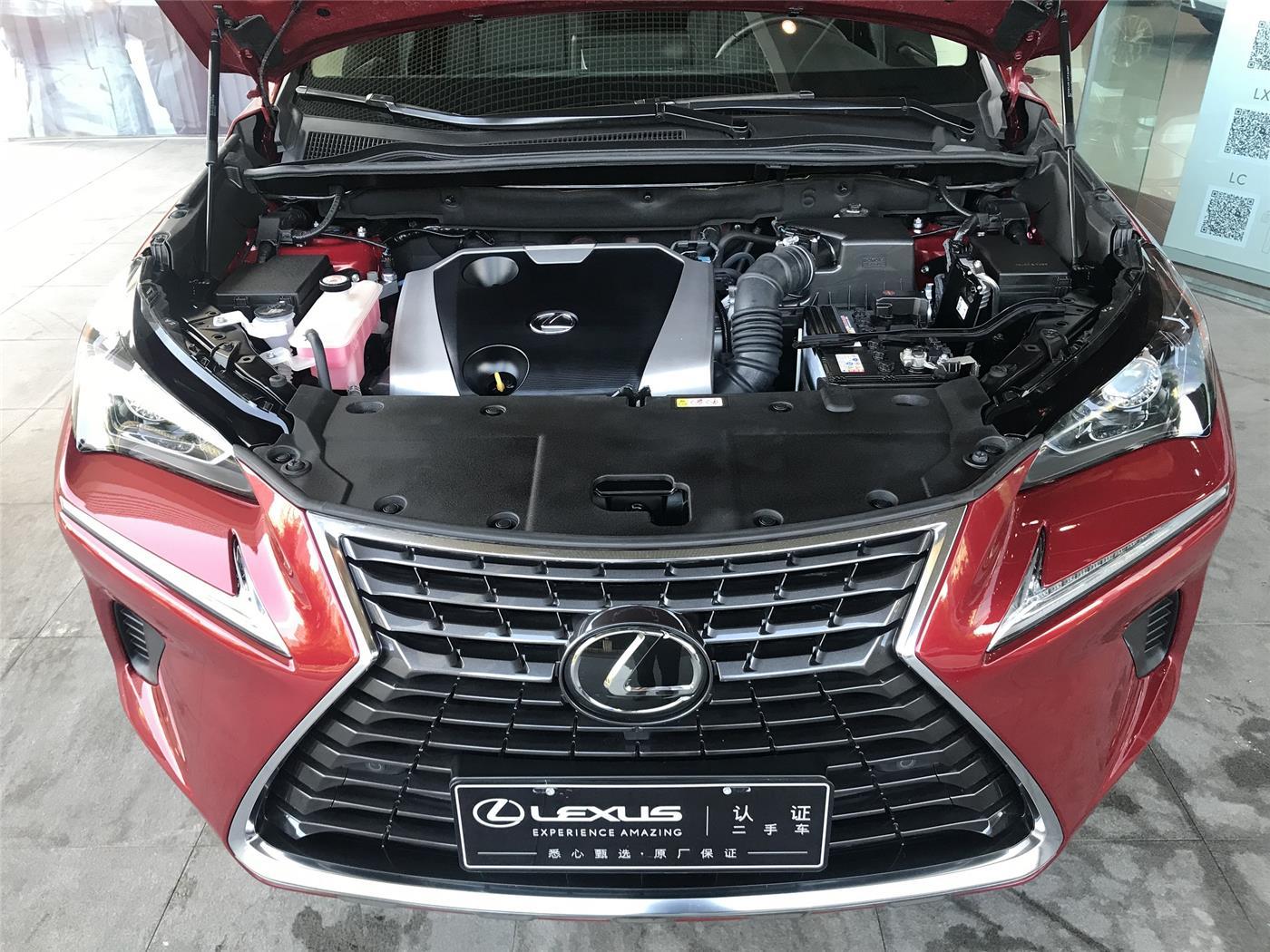 雷克萨斯NX 200 2.0 CVT四驱锋尚版(国Ⅴ)[201805]