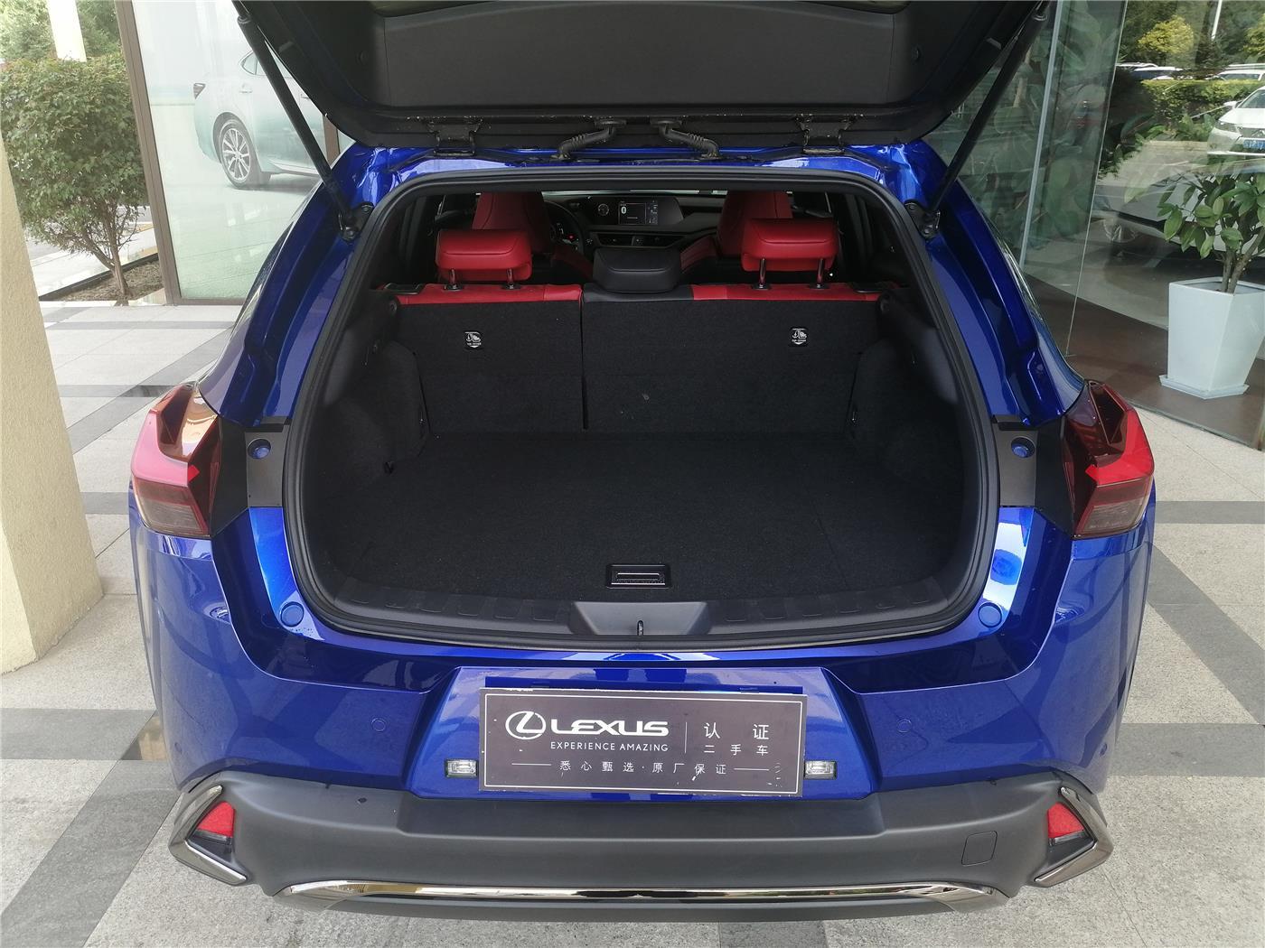 雷克萨斯UX 2.0 CVT 260h F SPORT油电混合(国Ⅵ)[201909]