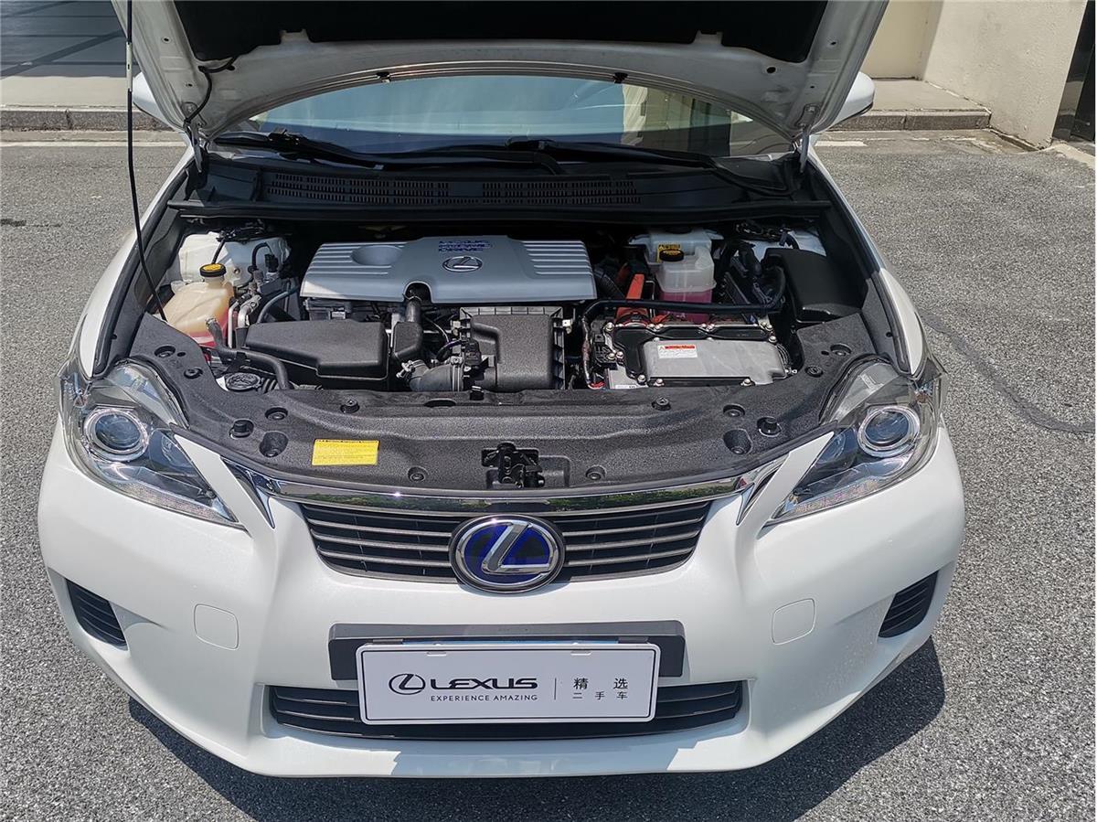 雷克萨斯CT 200h 1.8 CVT ECVT油电混合精英版[201212]