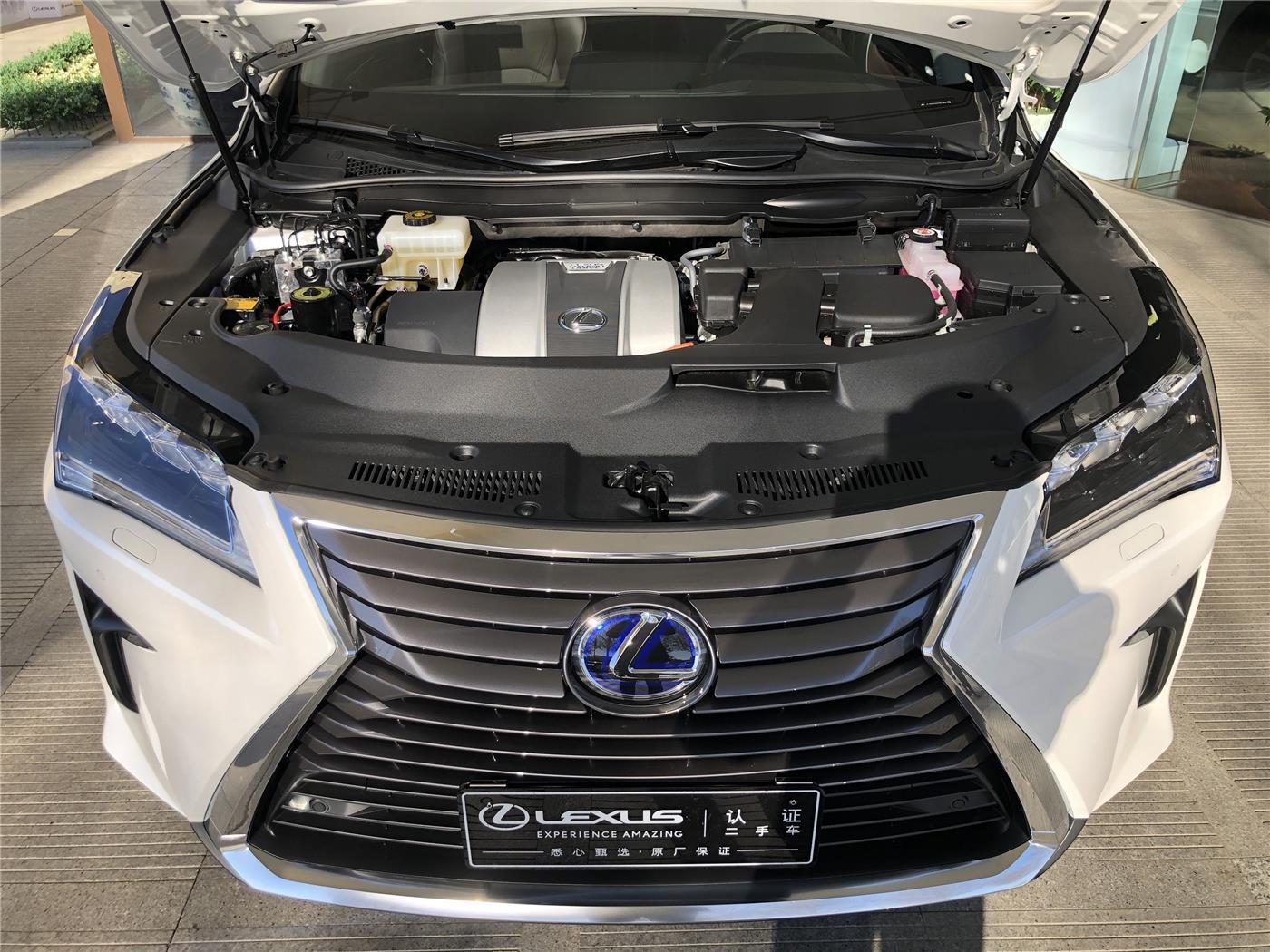 雷克萨斯RX 450h 3.5 ECVT四驱豪华版油电混合(国Ⅴ)[201511]