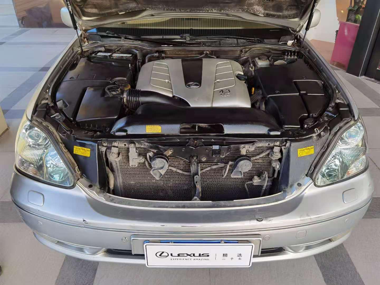 雷克萨斯LS 430 4.3 A/MT后驱[200501]