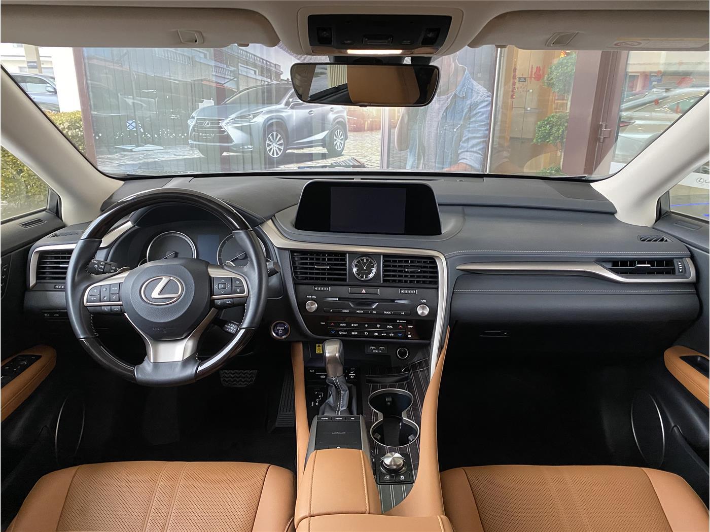 雷克萨斯RX 450h 3.5 CVT四驱豪华版油电混合(国Ⅴ)[201909]