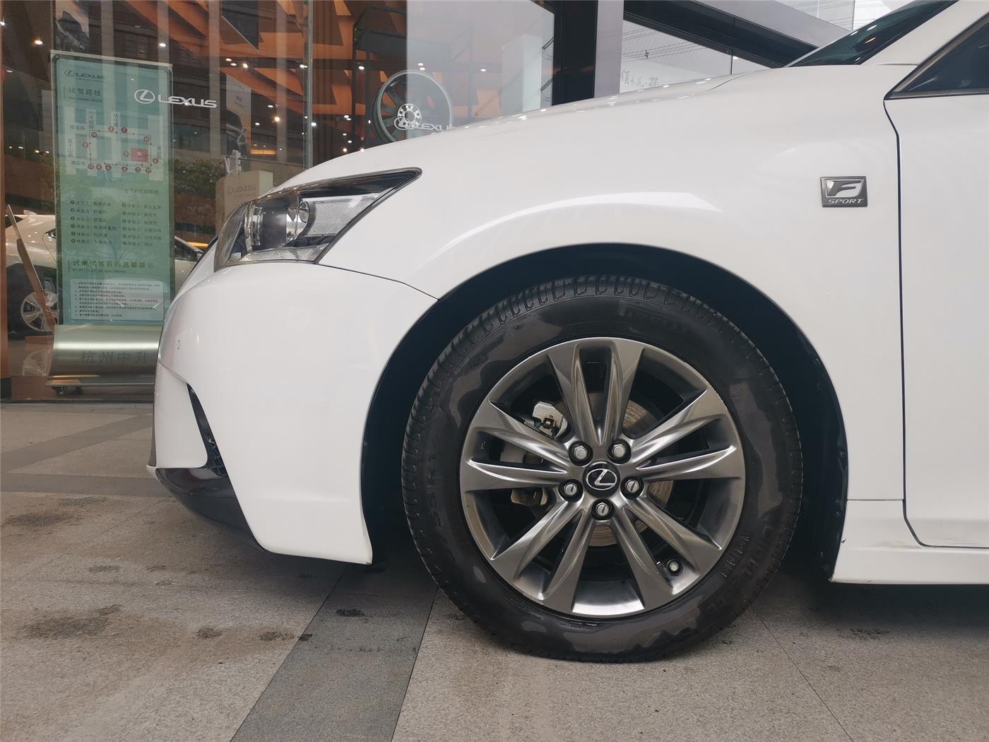 雷克萨斯CT 200h 1.8 CVT F Sport单色油电混合[201402]