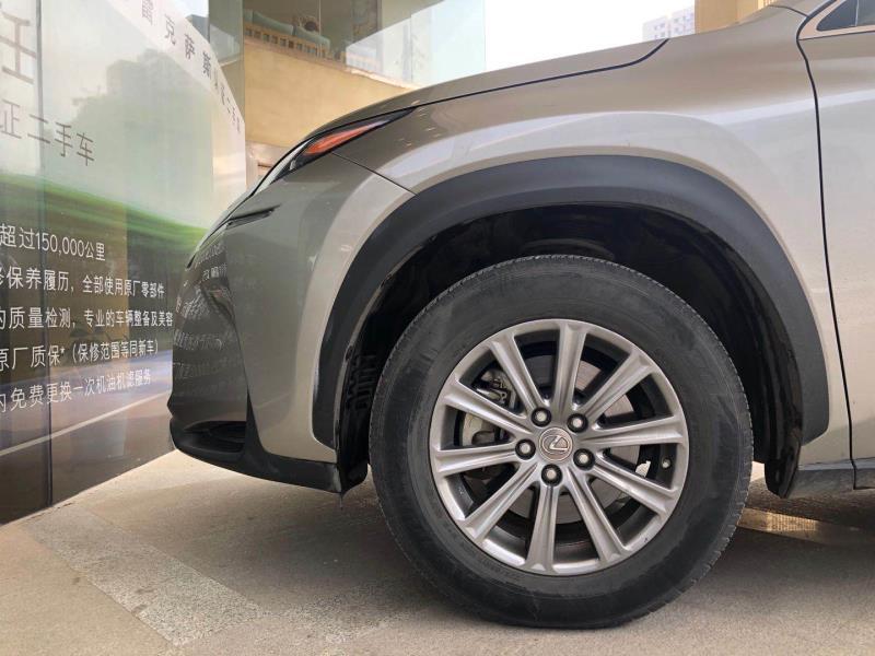 雷克萨斯NX 200 2.0 CVT四驱锋尚版[201806]
