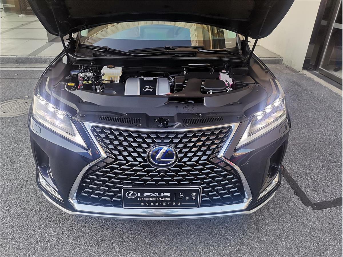 雷克萨斯RX 450hL 3.5 CVT四驱尊贵版6座油电混合[201909]