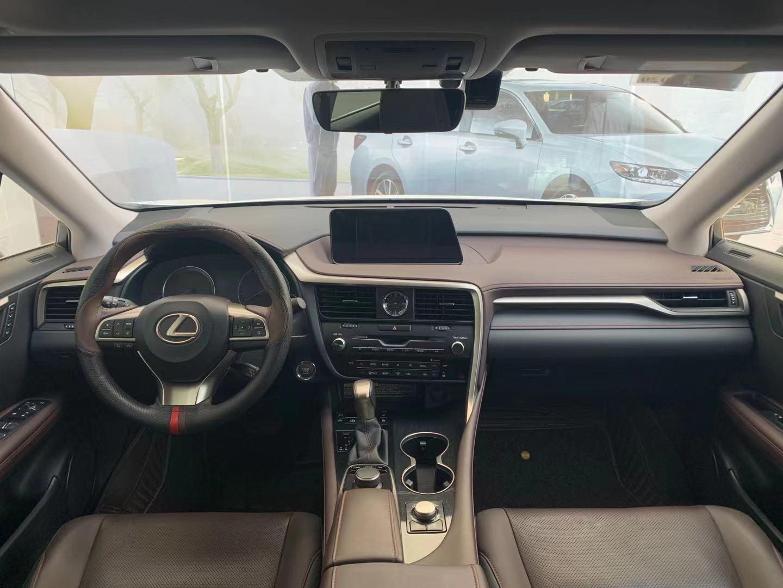 雷克萨斯RX 300 2.0T A/MT前驱舒适版[201711]