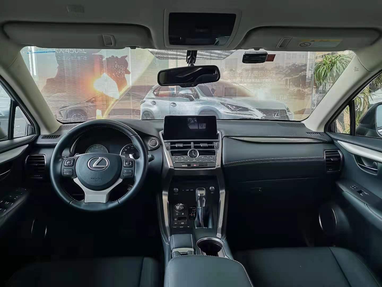 雷克萨斯NX 200 2.0 CVT前驱锋行版(国Ⅵ)[201909]