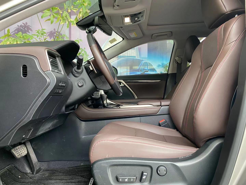 雷克萨斯RX 450hL 3.5 CVT改款四驱典雅版7座油电混合[202007]