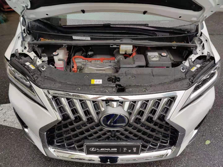 雷克萨斯LM300h 2.5 CVT隽雅版7座油电混合[202001]